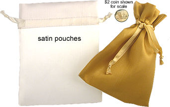 satin pouch - click for more info